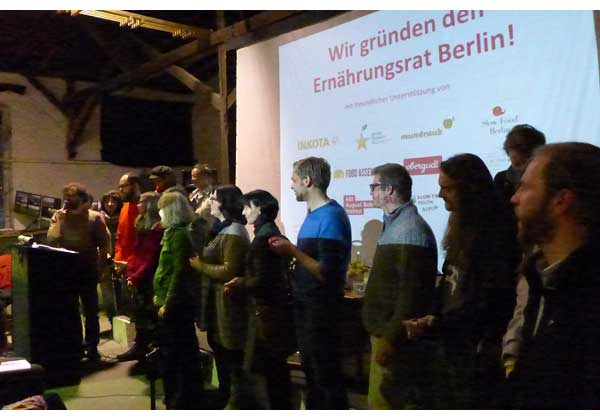 Gründung Ernährungsrat Berlin
