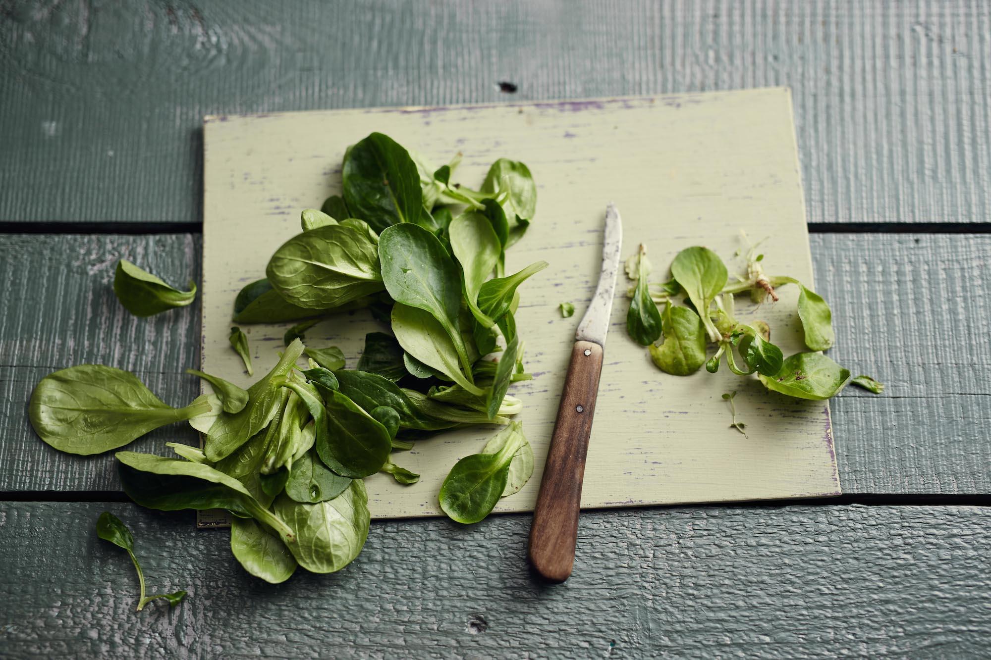 Feldsalat saisonal im März