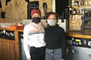 Kristin und Nina von den Marktschwärmern Erlangen
