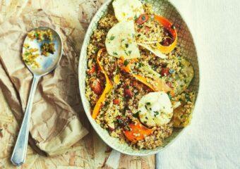 Quinoasalat Trockenfrüchte Marktschwärmer