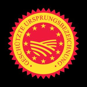 Geschütztes Ursprungsland-Regionalsiegel