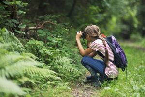 Mädchen in der Natur